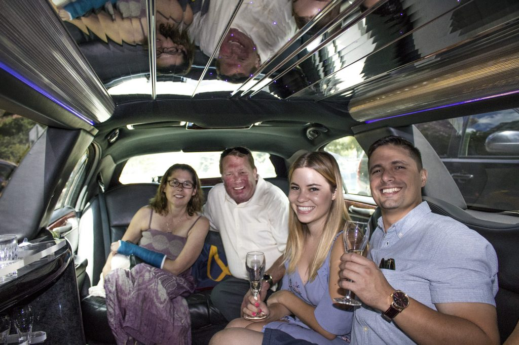 limo ride to NYC with Advertising Is Simple work trip