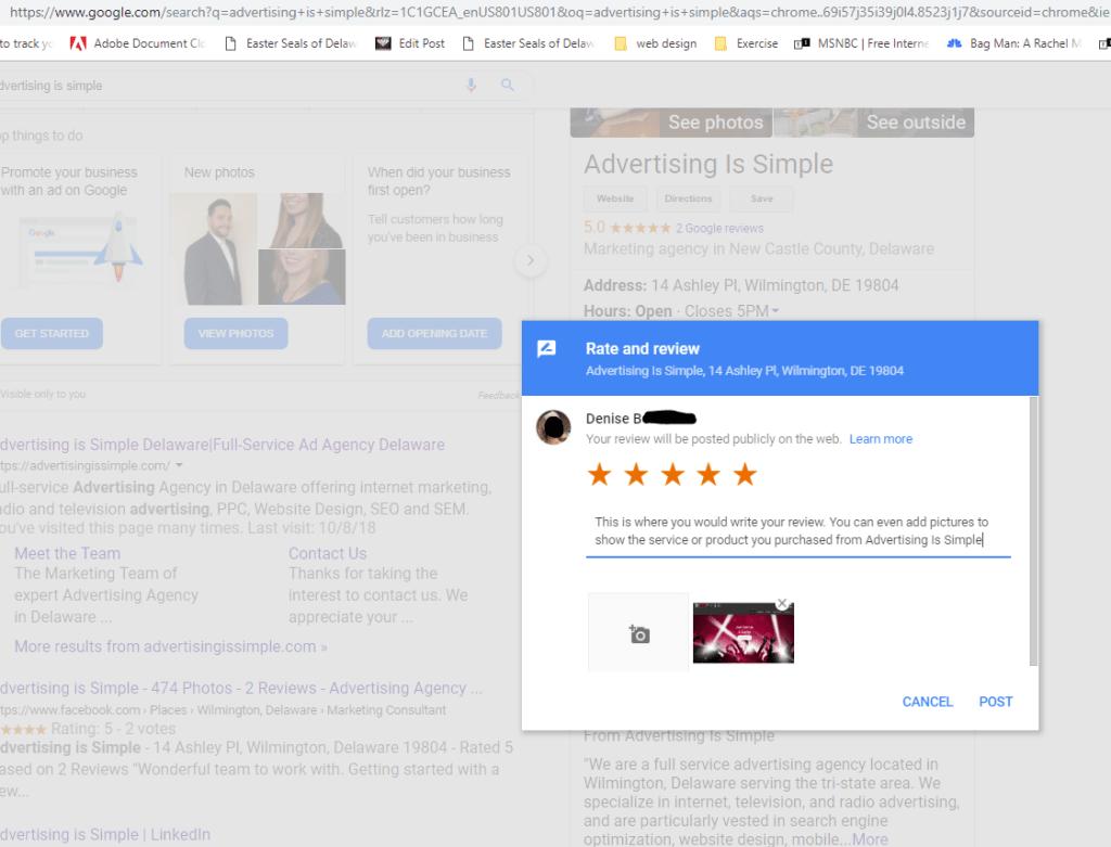 Google Review AIS