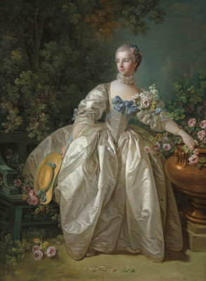 Mar 23 - Boucher Portrait of Madame Bergeret
