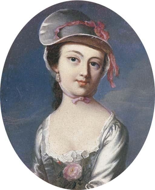 Mar 23 - Copley Portrait of Mary Clarke