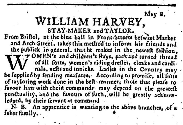 May 18 - 5:17:1766 Pennsylvania Journal