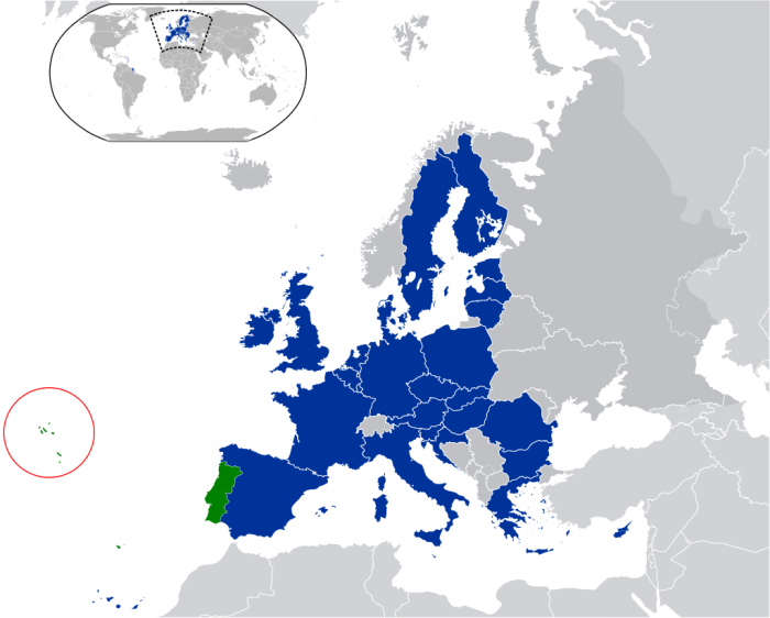 May 22 - Azores Map