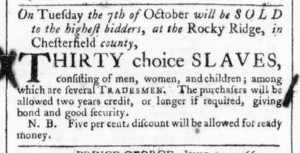 Jul 6 - 7:4:1766 Virginia Gazette