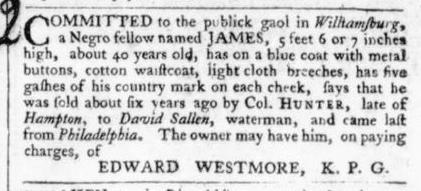 Jun 29 - 6:27:1766 Virginia Gazette