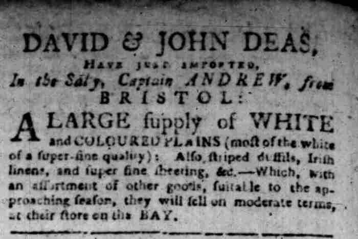 Sep 8 - 9:8:1766 South Carolina Gazette