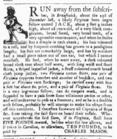 Apr 2 - Virginia Gazette Slavery 5
