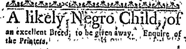 Mar 12 - Massachusetts Gazette Slavery 1