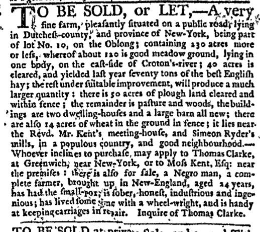 Mar 12 - New-York Journal Supplement Slavery 1