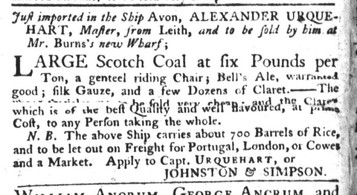 Mar 17 - 3:17:1767 South-Carolina Gazette and Country Journal