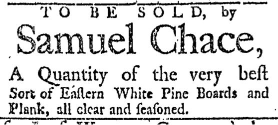 Mar 21 - 3:21:1767 Providence Gazette