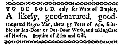 Apr 13 - Boston-Gazette Slavery 1