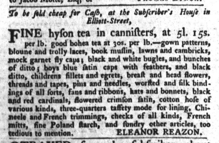 Apr 14 - 4:14:1767 South-Carolina Gazette and Country Journal