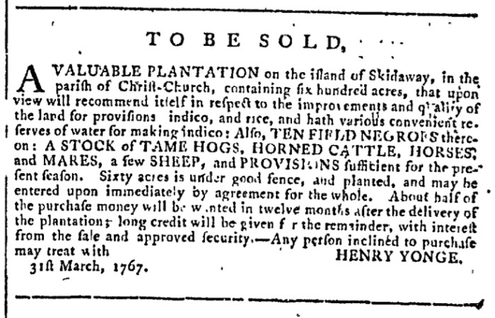 Apr 22 - Georgia Gazette Slavery 3