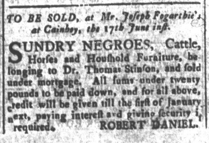 Jun 5 - South-Carolina and American General Gazette Slavery 12