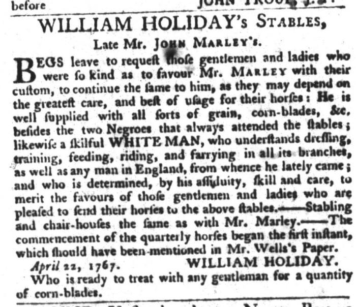 May 13 - South-Carolina Gazette and Country Journal Extraordinary Slavery 2