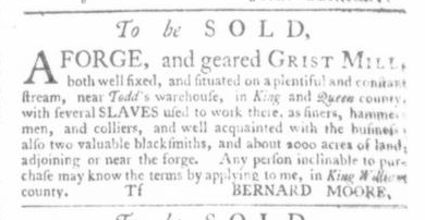 May 14 - Virginia Gazette Slavery 7
