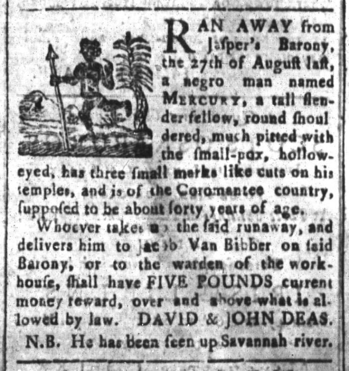 May 22 - South-Carolina and American General Gazette Slavery 10