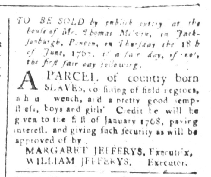 May 22 - South-Carolina and American General Gazette Slavery 3