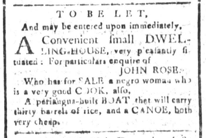 May 29 - South-Carolina and American General Gazette Slavery 7