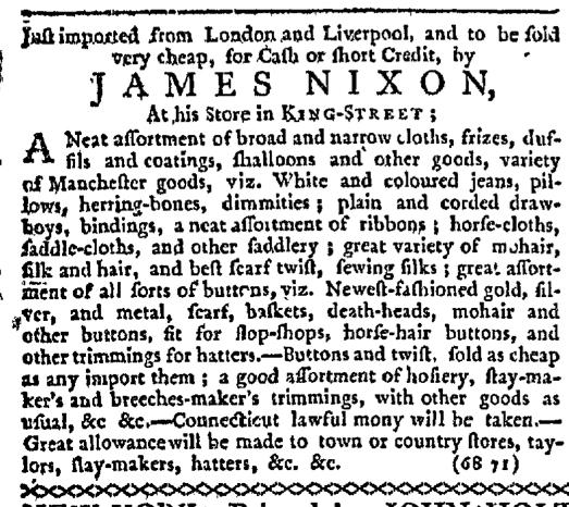 May 3 - 4:30:1767 New-York Journal
