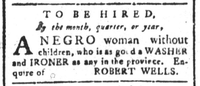Jul 10 - South-Carolina and American General Gazette Slavery 2