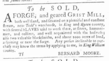 Jul 16 - Virginia Gazette Slavery 3