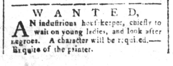 Jul 17 - South-Carolina and American General Gazette Slavery 2