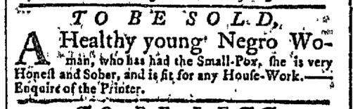Jul 20 - New-York Gazette Slavery 2