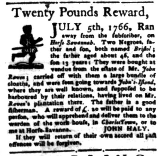 Jun 15 - South Carolina Gazette Slavery 10