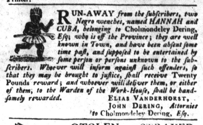 Jun 16 - South-Carolina Gazette and Country Journal Slavery 5