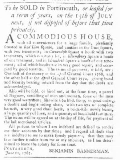Jun 18 - Virginia Gazette Slavery 2