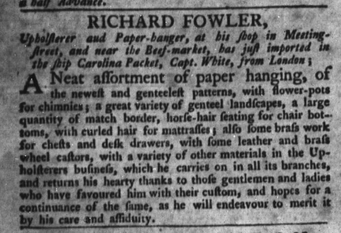 Jun 23 - 6:23:1767 South-Carolina Gazette and Country Journal