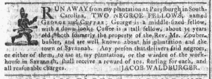 Jun 24 - Georgia Gazette Slavery 3