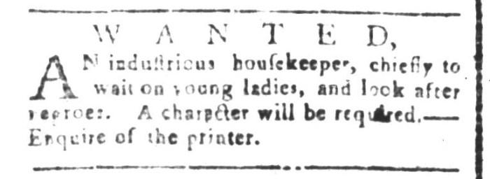 Jul 24 - South-Carolina and American General Gazette Slavery 5