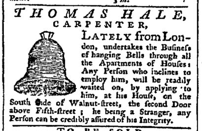 Jul 27 - 7:27:1767 Pennsylvania Chronicle