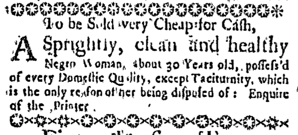 Jul 30 - Massachusetts Gazette Slavery 2