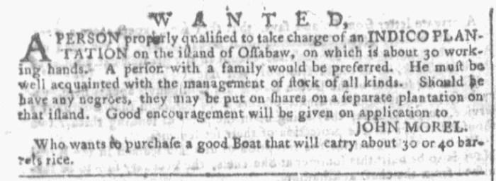 Aug 12 - Georgia Gazette Slavery 4