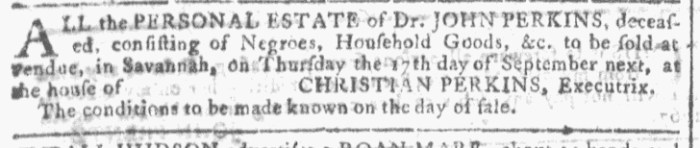 Aug 12 - Georgia Gazette Slavery 6