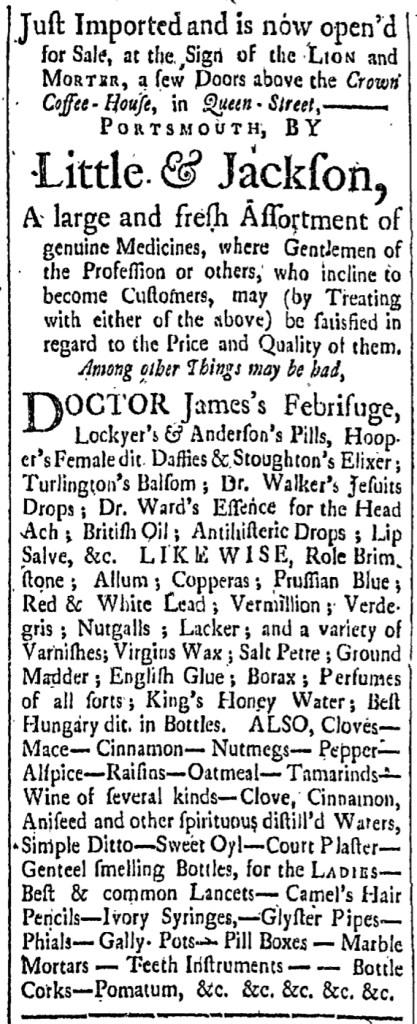 Aug 14 - 8:14:1767 New-Hampshire Gazette