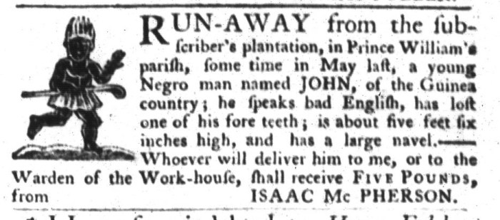 Aug 18 - South-Carolina Gazette and Country Journal Slavery 2