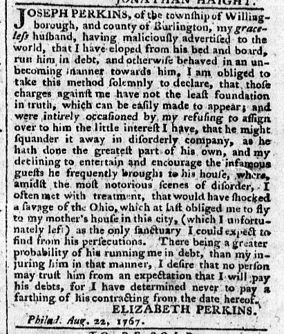 Aug 24 - 8:24:1767 Pennsylvania Chronicle