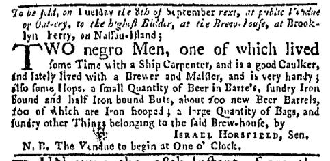 Aug 24 - New-York Mercury Slavery 1