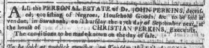 Aug 26 - Georgia Gazette Slavery 6