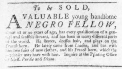 Aug 6 - Virginia Gazette Slavery 2