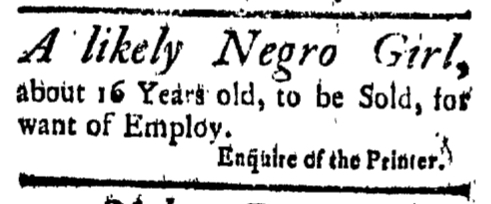 Sep 11 - New-London Gazette Slavery 2