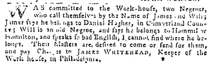 Sep 17 - Pennsylvania Gazette Slavery 2