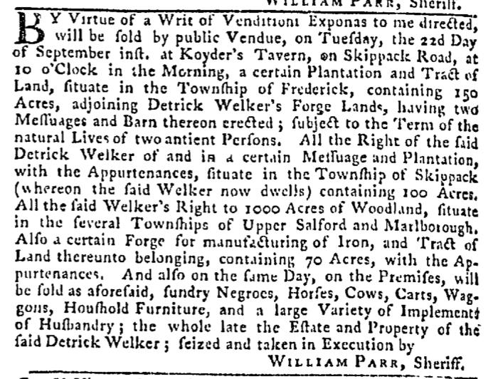 Sep 17 - Pennsylvania Gazette Slavery 3