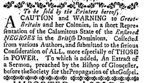 Sep 21 - Boston-Gazette Slavery 1