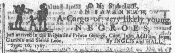 Sep 23 - Georgia Gazette Slavery 4