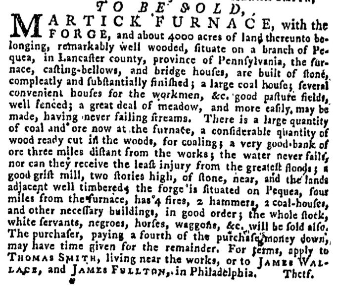Sep 24 - Pennsylvania Gazette Supplement Slavery 4